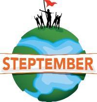 Steptember logo.