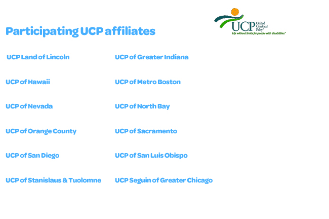 UCP Affiliate List UCP logo resized