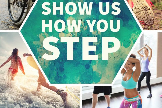 Show Us How You Step